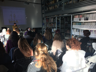 People | Artists, Marzia Migliora durante il workshop The artist as a researcher per MIBACT, 2017
