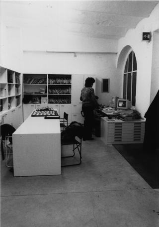 La storia dell'Archivio - 1, La sede dell'Archivio negli anni Novanta.