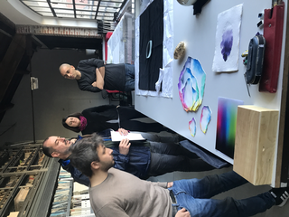People | Artists, Francesco Amato, Giuseppe De Siati, Leila Mirzakhani e Giuseppe Mirigliano, 2019
