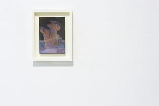 """Workshop e progetto espositivo Academy Awards """"Beg to differ"""", Nicole Colombo Nr° 7122015, 2015 Carta, legno, resina Foto di Giulia Alli"""