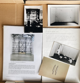 The Living Archive, Massimo Bartolini