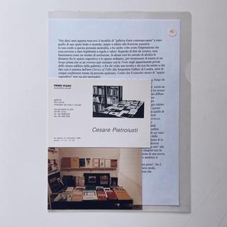 The Living Archive, Cesare Pietroiusti