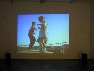 Blind Date, Video installazione di Alex Cecchetti