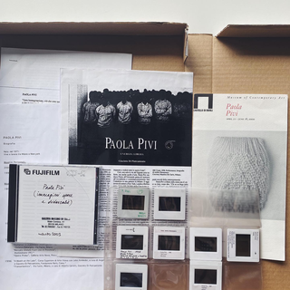 The Living Archive, Paola Pivi
