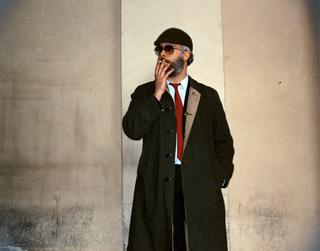People | Artists, Roberto Cuoghi,inuna fotografia di Armin Linke, 1998