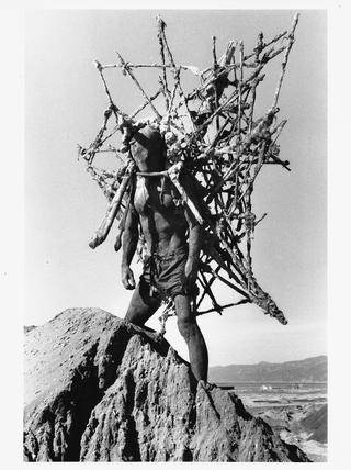 Kim Jones, Mudman Hill, 1975