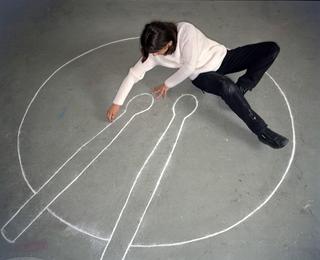 People | Artists, Liliana Moro,inuna fotografia di Armin Linke, 1999