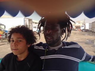 Intercultura - Capitolo 12 Ricordi di viaggio, Modou Gueye con suo figlio Bibo, 2013