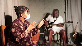 Intercultura - Capitolo 5 Attività attività attività, Laboratorio di teatro con Rufin Doh