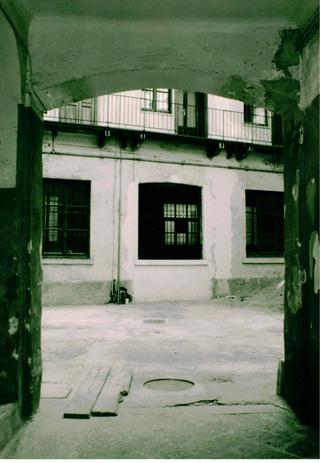 La storia dell'Archivio - 1, Il cortile.