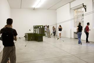 VIR Viafarini-in-residence, Benjamin Greber e Ulrich Vogl, L'Open Studio Foto di Zeno Zotti