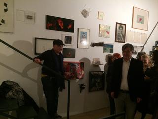 People | Family, Corrado Levi presenta il progetto da lui curato allo studio albertoaoperto di Alberto Mugnaini, marzo 2017