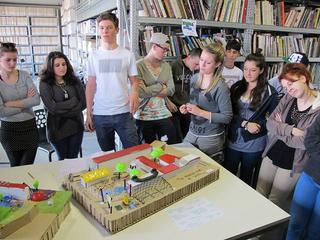 Workshop: Low Cost Design Park, Restituzione del gruppo di lavoro 5.