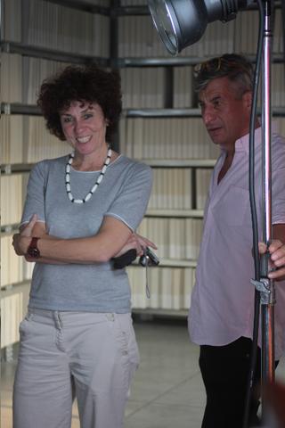 La storia dell'Archivio - 1, Patrizia Brusarosco e Maurizio Cattelan.
