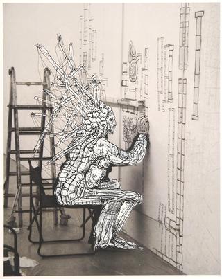 Kim Jones, residenza, mostra e workshop, Kim Jones, drawing