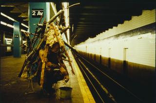Kim Jones, Subway, New York, 1986-1987