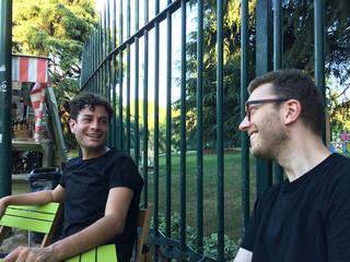 People | Family, Simone Frangi e Giulio Verago alla Triennale di Milano, giugno 2017