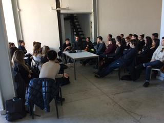 People | Family, Simone Frangi tiene una lecture alla Fabbrica del Vapore, 2017