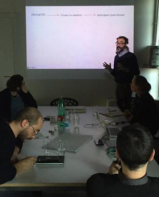 Combinare combinazioni - Laboratorio di filosofia con e per artiste e artisti, Laboratorio Combinare combinazioni con la curatela di Davide Dal Sasso.