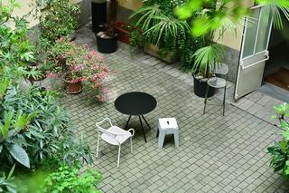 DesignByThem Milan 2019, Il cortile di ingresso alla mostra.