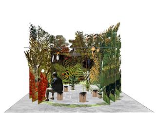 Green Guests eco-dentro, GreenGuests, elaborazione grafica.