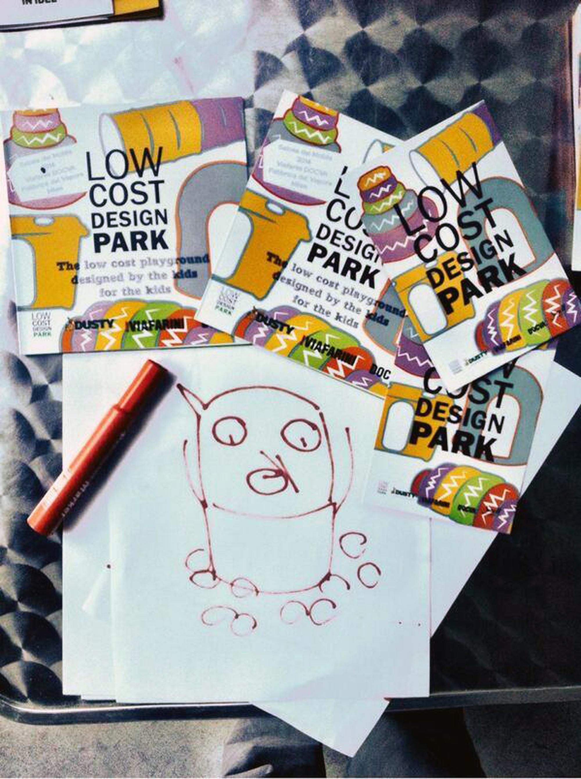 Low Cost Design Park, Low Cost Design Park, progettato dai bambini per i bambini.