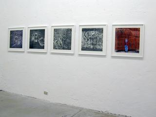 Linda Fregni Nagler, bambini, Veduta dell'installazione.