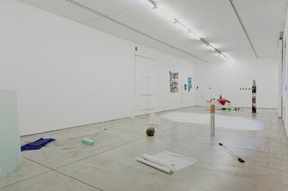 VIR Viafarini-in-residence, Open Studio, Veduta dell'installazione. Foto di Davide Tremolada