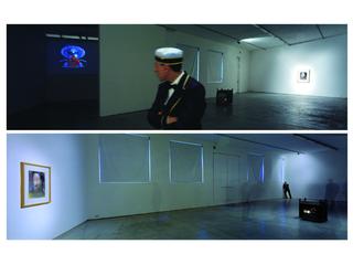 Pietro Roccasalva, O.H. Situazione d'opera in quattro stanze, Veduta dell'installazione.