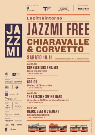 Intercultura - Capitolo 19 Un anno dopo: le attività fioriscono, Locandina JazzMi, 2018