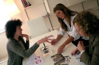 Gemmo SpA, Patrizia Brusarosco e Susanna Gemmo in azienda.