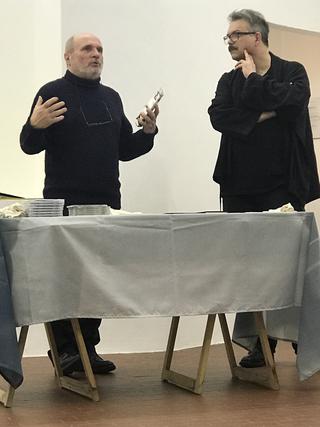 People | Artists, Elio Grazioli e Gianluca Codeghini, 2019