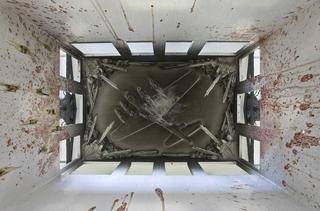 Alexej Koschkarow, Checkpoint Charlie, Checkpoint Charly (after Carribean Crises), 2009 Mixed Media 45 x 85 x 130 cm (interior detail) Foto di Zeno Zotti