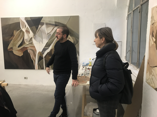 People | Artists, Giuseppe Buzzotta e Fabrizia Adda Ferrari, 2020