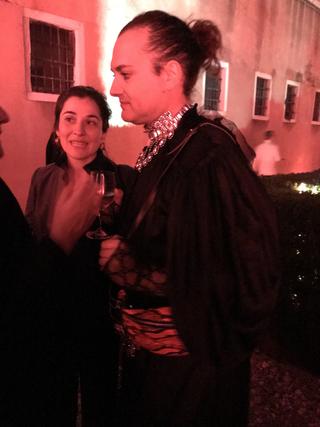 People | Family, Milovan Farronato alla cena in onore del Padiglione Italia da lui curato alla Biennale d'Arte di Venezia, 2019