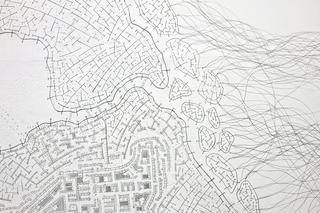 Kim Jones, residenza, mostra e workshop, Dettaglio War Drawing