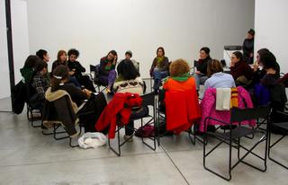 "Workshop per giovani artisti ""Wherever We Go - Ovunque andiamo"", Workshop con Maja Bajevic."