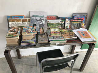 Intercultura - Capitolo 12 Ricordi di viaggio, Libri dall'Italia al Centro di Educazione Socioculturale di Thies