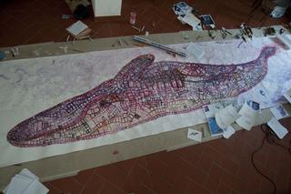 Arimortis, Giona Bernardi, La Balenain lavorazione