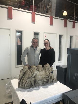 Coworking Lotto 15, Il prof. Mario Colella e i restauri de Il Chiostro s.r.l.