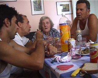 "Adrian Paci, Turn On, Slowly, 2004, (video), 04'00"". still."