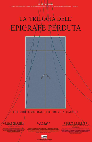 Dustin Cauchi, The Lost Epigraphy Trilogy, Locandina