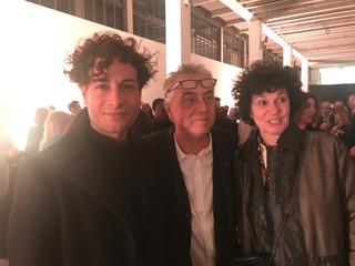 People | Family, Simone Frangi, Stefano Boeri e Patrizia Brusarosco all'inaugurazione della Triennale, 2019
