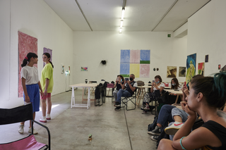 People | Artists, I can still taste you, performance di Martina Rota a VIR Viafarini-in-residence, 2020