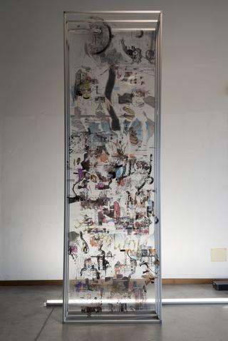 Viafarini Open Studio, Pietro Catarinella. Fotografia di Valerio Torrisi.