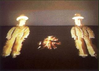 Video Invitational - Video in tutti i sensi: Bjørn Melhus, Bjorn Melhus, Silver City,1999 video Installation, 2 channels 7 min