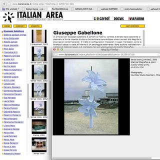 The Living Archive, Italian Area