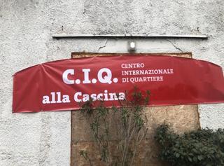 Intercultura - Capitolo 21 Il marchio, Il nuovo logo C.I.Q. - Centro Internazionale di Quartiere alla Cascina, nel 2019