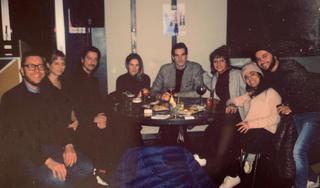 People | Family, Giulio Verago con gli artisti di VIR Viafarini-In-Residence, 2019