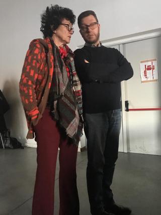 People | Family, Patrizia e Giulio all'Archivio DOCVA alla Fabbrica del Vapore, 2019